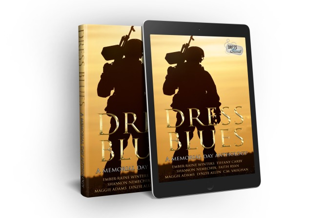 COVER REVEAL for Dress Blues Anthology!