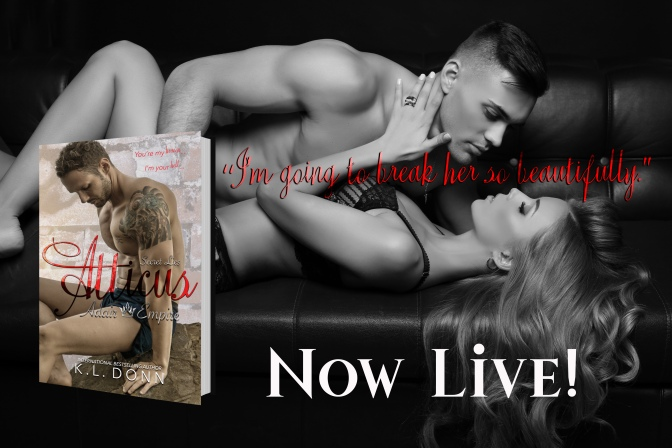 Release Blitz for Atticus by KL Donn!
