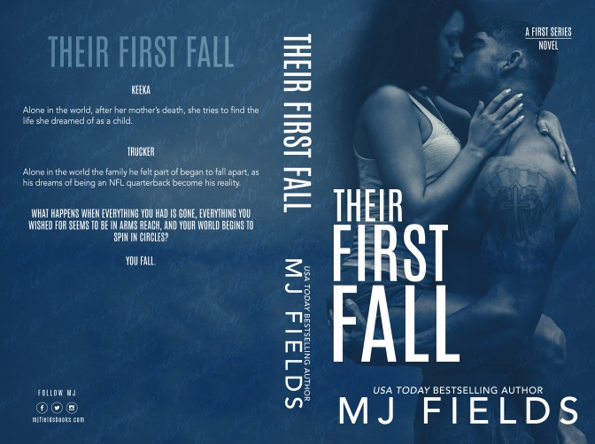 Cover Reveal for Their First Fall by MJ Fields!