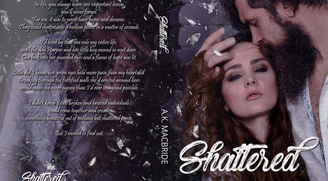 Cover Reveal! Shattered by AK MacBride