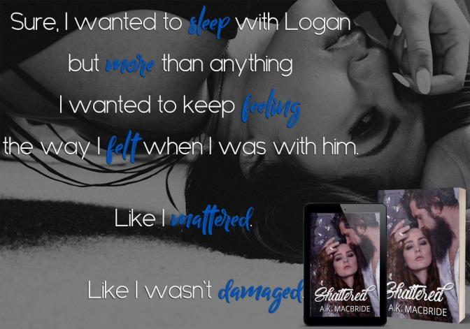 SHATTERED by AK MacBride is live!
